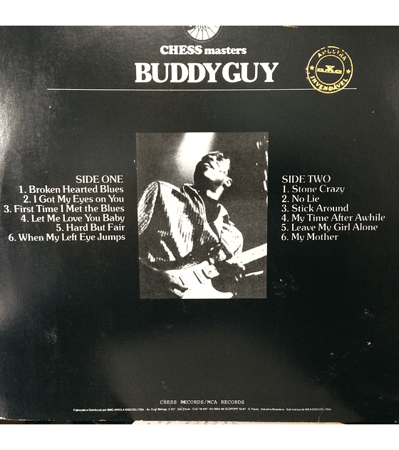 Buddy Guy ‎– Chess Masters