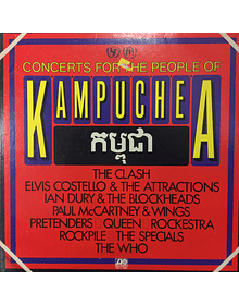 Various – Concerts For The People Of Kampuchea (Mccartney, The Who, Queen, The Clash)