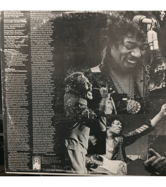 Jimi Hendrix Experience / Otis Redding  ‎– Historic Performances Recorded At The Monterey International Pop Festival