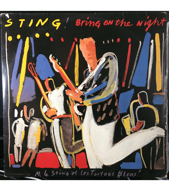Sting ( Police )‎– Bring On The Night