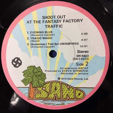 Traffic – Shoot Out At The Fantasy Factory (1a ED USA)