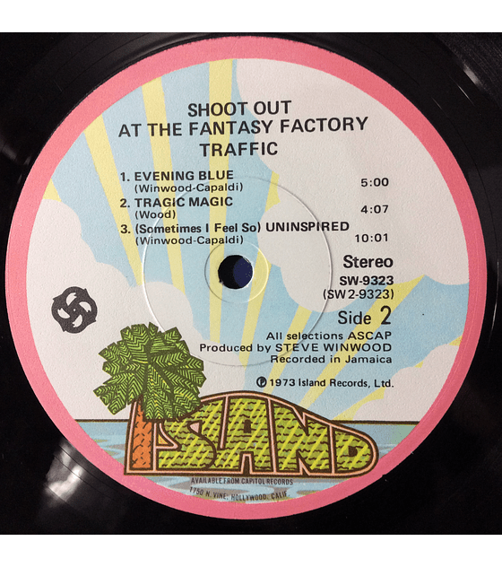 Traffic ‎– Shoot Out At The Fantasy Factory (1a ED USA)