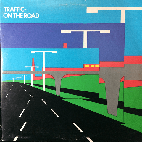 Traffic ‎– On The Road (1a Ed USA)