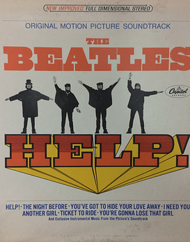 Beatles ‎ Help! (Original Motion Picture Soundtrack) Ed USA Apple 71