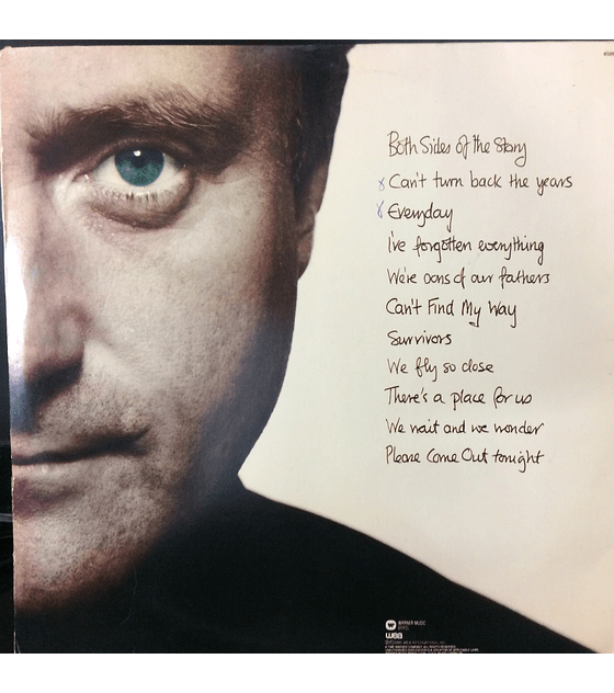 Phil Collins ‎– Both Sides (orig ´93)