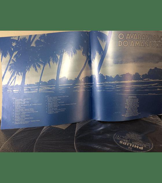 Caetano Veloso – O Avarandado Do Amanhecer (BOX 4LPs + libreto)