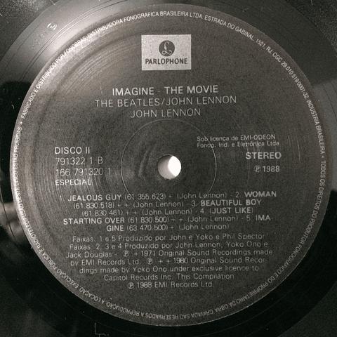John Lennon – Imagine - Music From The Motion Picture (Beatles)