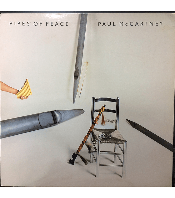 Paul McCartney ‎– Pipes Of Peace 1a ED USA (Beatles)