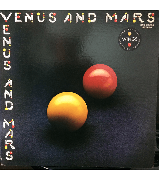 Paul McCartney Wings ‎– Venus And Mars 1a Ed JAPÓN (Beatles)