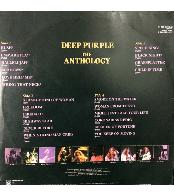 Deep Purple ‎– The Anthology