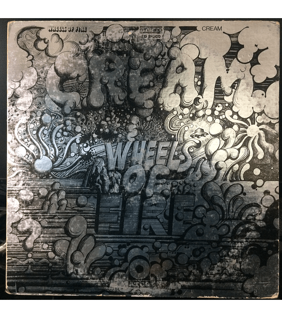 Cream ‎– Wheels Of Fire (1a ED USA)