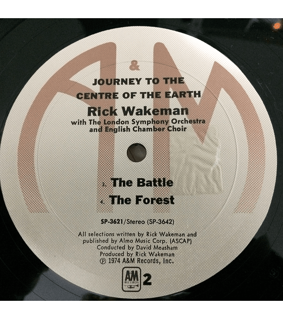 Rick Wakeman ‎– Journey To The Centre Of The Earth