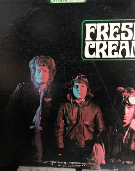 Cream ‎– Fresh Cream (1a Ed USA)
