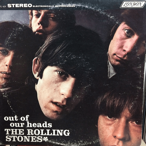 Rolling Stones ‎– Out Of Our Heads (ED USA 60s)