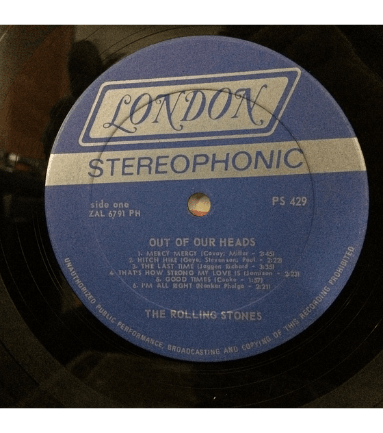 Rolling Stones – Out Of Our Heads (ED USA 60s)