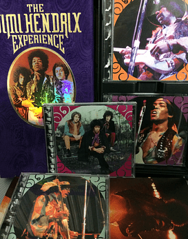 4 CDs BOX The Jimi Hendrix Experience NM