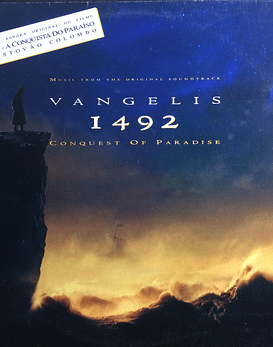 Vangelis ‎– 1492 – Conquest Of Paradise (Music From The Original Soundtrack)