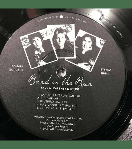 Paul McCartney Wings (Beatles) – Band On The Run (1a ED USA)