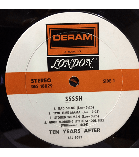 Ten Years After ‎– Ssssh. (1a ED USA)