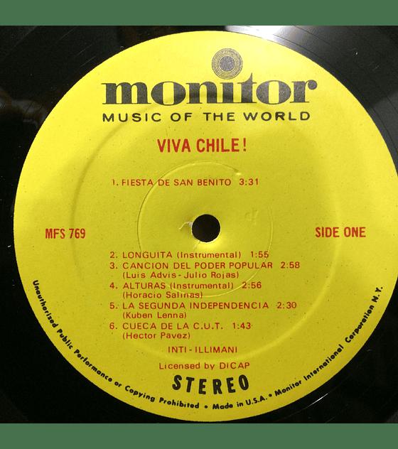 Inti-Illimani – Viva Chile! (ED USA)