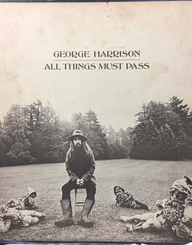 George Harrison (Beatles) ‎– All Things Must Pass (1a ED USA)