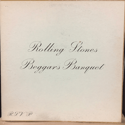 Rolling Stones ‎– Beggars Banquet (ED USA '68)
