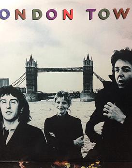Paul McCartney Wings – London Town (Beatles) (1a ED USA)