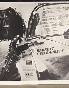 Pink Floyd Syd Barrett – Barrett