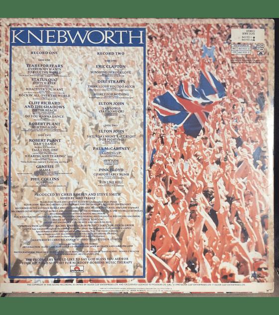Various (Pink Floyd, McCartney, Clapton, Genesis, Dire Straits, etc.) – Knebworth