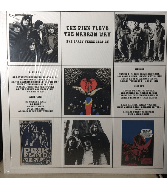 Pink Floyd – The Narrow Way (The Early Years 1968-69)
