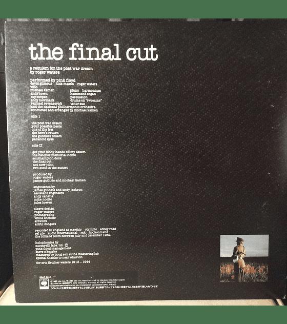 Pink Floyd – The Final Cut (1a Ed JAPÓN)