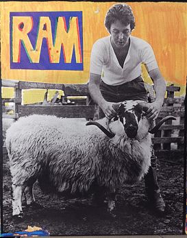Paul & Linda McCartney ‎– Ram (ed Doble, Collector)