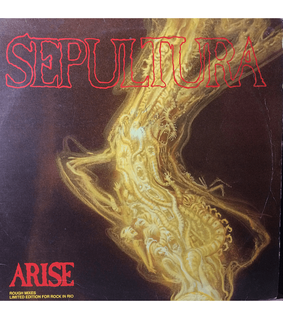 Sepultura ‎– Arise - Rough Mixes Limited Edition For Rock In Rio