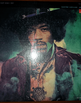 Jimi Hendrix Experience ‎– Electric Ladyland ed Japón