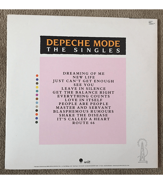 Depeche Mode ‎– The Singles