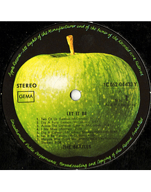 Beatles – Let It Be 1a ED Alemania