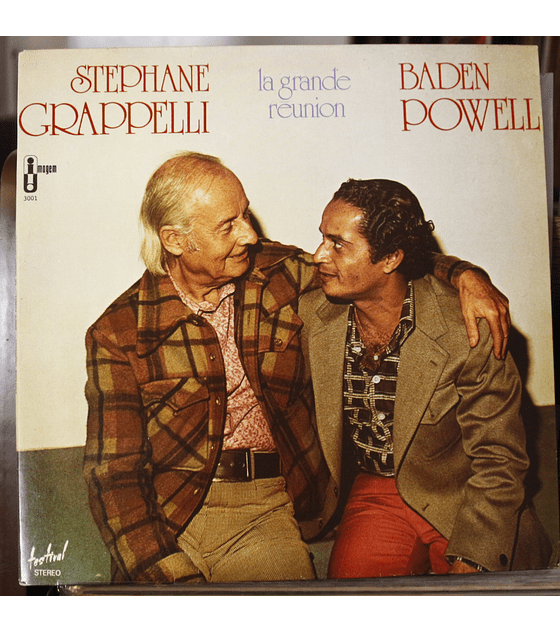 Stephane Grappelli* / Baden Powell ‎– La Grande Reunion
