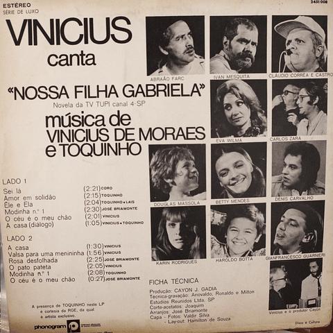 Vinicius de Moraes – Nossa Filha Gabriela