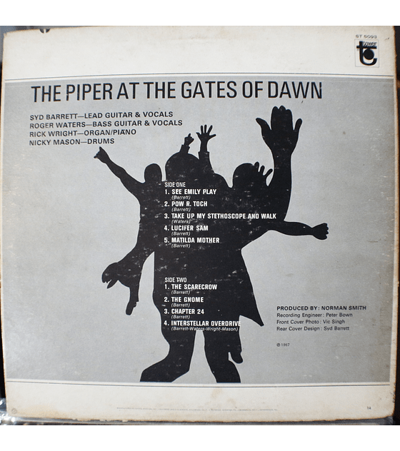Pink Floyd – The Piper At The Gates Of Dawn (ed USA '69)