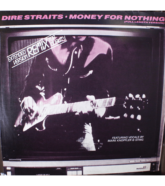 Dire Straits ‎– Money For Nothing 12p (Full Length Version)