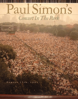 Paul Simon Concert In The Park (Simon and Garfunkel)