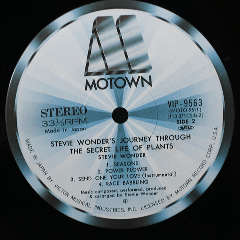 Stevie Wonder ‎– Journey Through The Secret Life Of Plants - Ed Japón