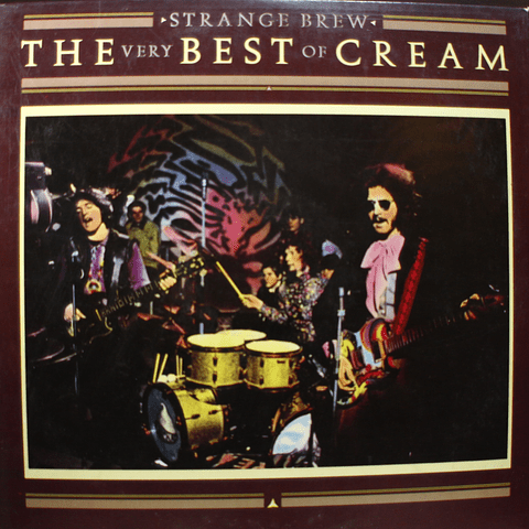 Cream Eric Clapton ‎– Strange Brew - The Very Best Of Cream
