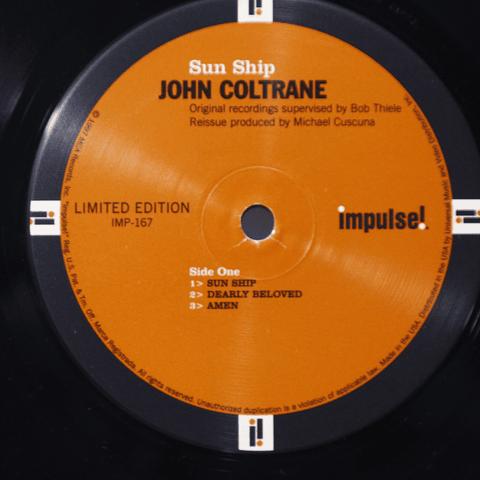John Coltrane Sun Ship