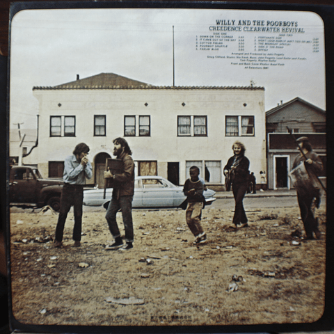 Creedence Clearwater Revival – Willy And The Poor Boys a Ed Japón