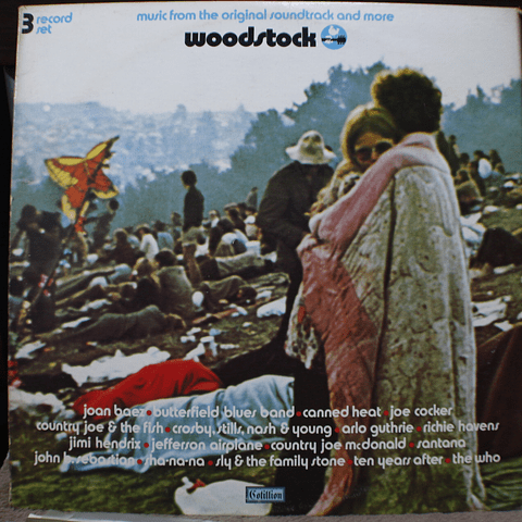 Various – Woodstock - Music From The Original Soundtrack