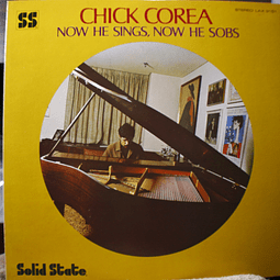 Chick Corea ‎– Now He Sings, Now He Sobs (Ed, Japón)