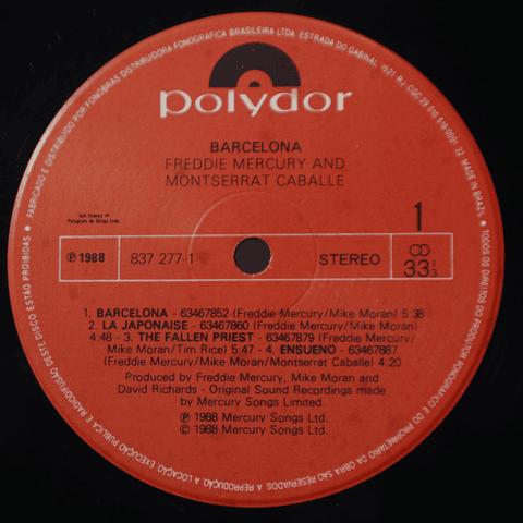Freddie Mercury (Queen) & Montserrat Caballé – Barcelona
