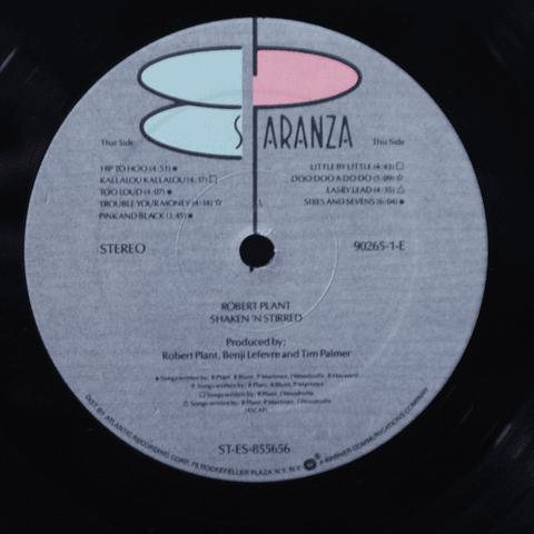 Robert Plant (Led Zeppelin) – Shaken 'N' Stirred