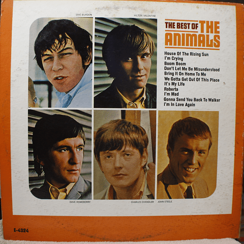 Animals ‎– The Best Of The Animals (MONO - 1a Ed USA)